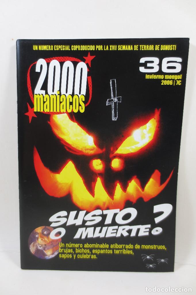 2000 MANIACOS 36 (Cine - Revistas - Otros)