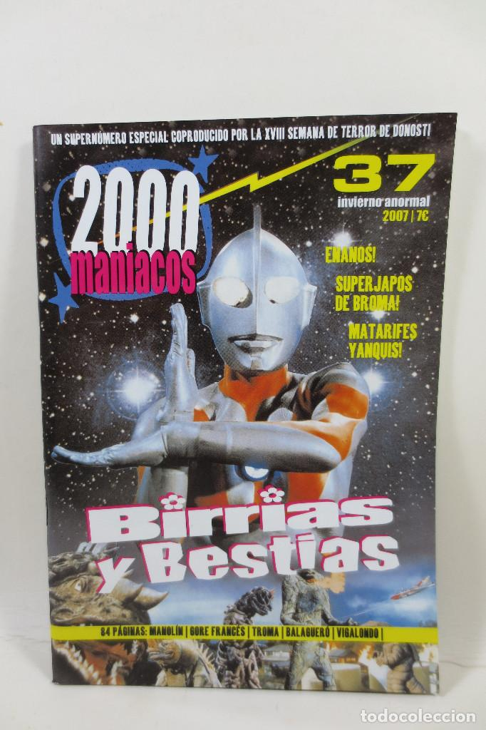 2000 MANIACOS 37 (Cine - Revistas - Otros)