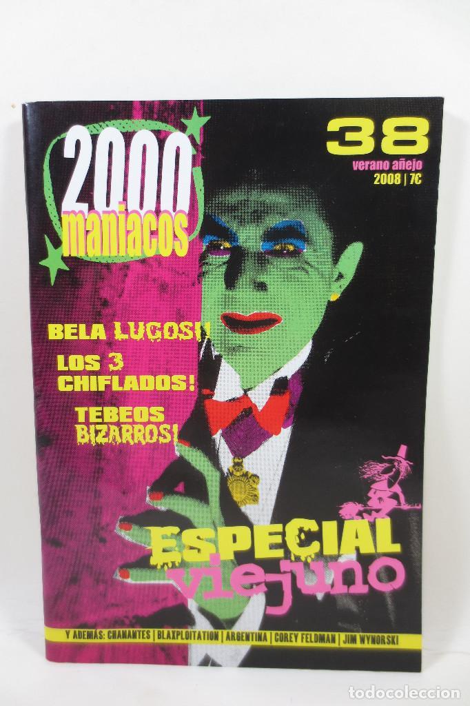 2000 MANIACOS 38 (Cine - Revistas - Otros)
