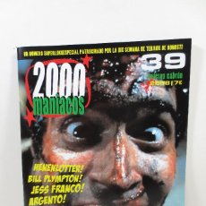 Cine: 2000 MANIACOS 39. Lote 257741150