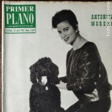 Cine: PRIMER PLANO Nº 1124 DE 1962- PLACIDO DE BERLANGA EN LOS OSCAR- MARCHA O MUERE- NURIA TORRAY- SERENA. Lote 257995900