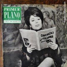 Cine: PRIMER PLANO Nº 1129 DE 1962- CANNES, DANIELA ROCCA- GENEVIEVE GRAD- CONCHA VELASCO- AURORA BAUTISTA. Lote 258004405