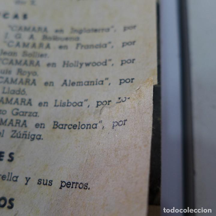 Cine: TOMO DE LA REVISTA CINEMATOGRAFICA ESPAÑOLA CAMARA 1944 - 12 NUMEROS - Foto 10 - 258170080
