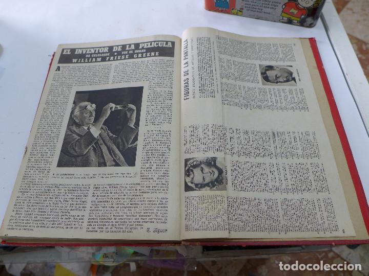Cine: TOMO DE LA REVISTA CINEMATOGRAFICA ESPAÑOLA CAMARA 1944 - 12 NUMEROS - Foto 13 - 258170080