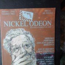 Cinema: REVISTA TRIMESTRAL DE CINE NICKEL ODEON Nº 3 - VERANO 1996 LUIS GARCÍA BERLANGA. Lote 258507895