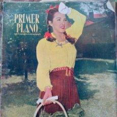 Cine: REVISTA PRIMER PLANO. AÑO 1946. RAFAEL DURAN, MARLNE DIETRICH JEAN GABIN, MARIA MONTEZ ,F. ASTAIRE. Lote 258515005