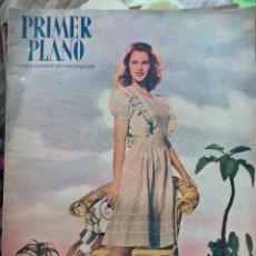 Cine: REVISTA PRIMER PLANO 1947. JOAN CRAWFORD VIVIANNE ROMANCE O DE HAVILLAND SARA MONTIEL. Lote 258518675