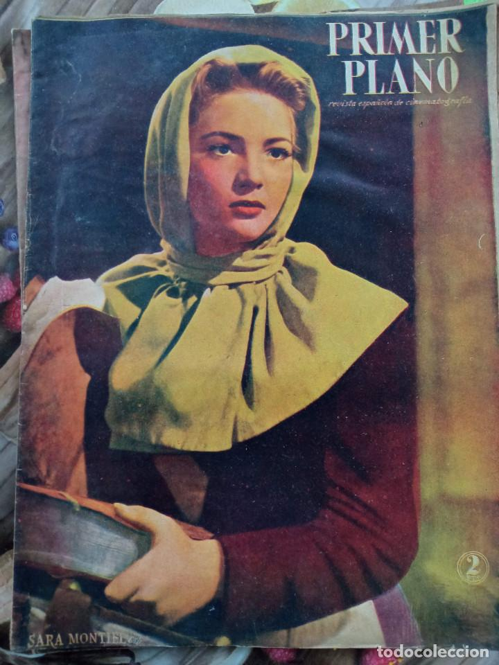 REVISTA PRIMER PLANO 1947. SARA MONTIEL MAUREEN O HARA ANNA MAGNANI LUIS SANDRINI HENRY FONDA (Cine - Revistas - Primer plano)