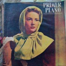 Cine: REVISTA PRIMER PLANO 1947. SARA MONTIEL MAUREEN O' HARA ANNA MAGNANI LUIS SANDRINI HENRY FONDA. Lote 258519100