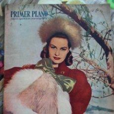 Cine: REVISTA PRIMER PLANO NUMERO ESPECIAL 1948. SALLY GRAY AMPARO RIVELLES GREGORY PECK. Lote 258519775