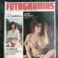 Cine: NUEVO FOTOGRAMAS.. 1414.NOV.1975.. Lote 258869140