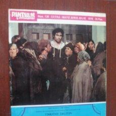 Cine: PANTALLAS Y ESCENARIOS 139 - 1976 - CANNES AUDREY HEPBURN CUETOS JOSE CANALEJAS. Lote 259324445