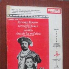 Cine: PANTALLAS Y ESCENARIOS 107 NAVIDAD / BRITISH FILM INSTITUTE - RAPHAEL - ENVIO GRATIS. Lote 259326390