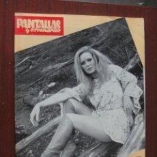 Cine: PANTALLAS Y ESCENARIOS 111 - 1971 - MARIANO MEDINA ANIMACION - ESPERANZA ROY - YATESD - EMILIO CABA. Lote 259328885