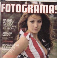 Cinema: FOTOGRAMAS 1335 - 17 MAYO 1974 / MAXIMO VALVERDE - AMPARO MUÑOZ - SANCHO GRACIA - JOHN HUSTON. Lote 259991965