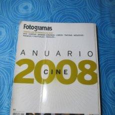 Cine: REVISTA FOTOGRAMAS, ANUARIO 2008. Lote 260626100