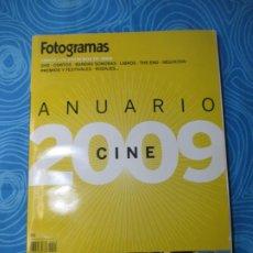 Cine: REVISTA FOTOGRAMAS, ANUARIO 2009. Lote 260626215