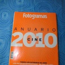 Cine: REVISTA FOTOGRAMAS, ANUARIO 2010. Lote 260626285