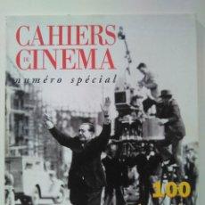 Cine: CAHIERS DU CINÉMA. NUMÉRO SPÉCIAL 1995. 100 JOURNÉES QUI ONF FAIT LE CINÉMA. Lote 260724415