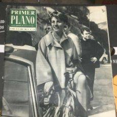 Cine: REVISTA PRIMER PLANO # 1183 (14-6-1968) JEANNE MOREAU ON COVER TANIA BERRYL WALT DISNEY. Lote 261197250
