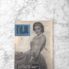 Cine: FILM IDEAL - Nº 47 - 1960 - ZULLY MORENO, ROSSELLINI, ANTONIO DEL AMO, NOUVELLE VAGUE. Lote 261224950