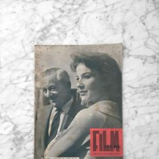 Cine: FILM IDEAL - Nº 48 - 1960 - WILLIAM WYLER, JANYCE RULE, NICHOLAS RAY. Lote 261225405