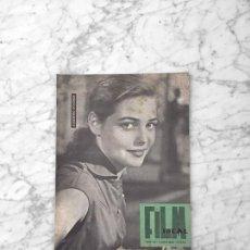 Cine: FILM IDEAL - Nº 49 - 1960 - JUGEBERG SCHONER, MERCURIO FILMS, J.A. BARDEM, CANNES. Lote 261226245