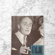 Cine: FILM IDEAL - Nº 51 - 1960 - RENE CLAIR, ALFRED HITCHCOCK, FRESAS SALVAJES, INGMAR BERGMAN. Lote 261228000