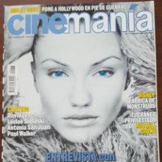 Cine: REVISTA CINEMANIA Nº 77 FEBRERO 2002. Lote 261282225