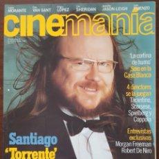 Cine: REVISTA CINEMANIA Nº 30 MARZO 1998 (INCLUYE CARTEL DE LA PELICULA, EL MUNDO PERDIDO, JURASIC PARK). Lote 261283055