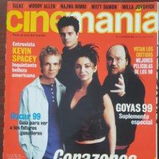 Cine: REVISTA CINEMANIA Nº 53 FEBRERO 2000 (INCLUYE SUPLEMENTO ESPECIAL GOYA 99). Lote 261283925