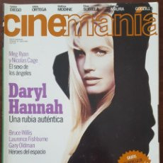Cine: REVISTA CINEMANIA Nº 34 JULIO 1998 (INCLUYE CARTEL DE CINE TRAINSPOTTING). Lote 261284480