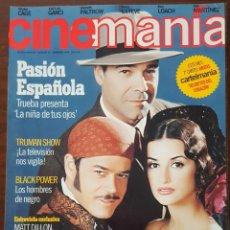 Cine: REVISTA CINEMANIA Nº 38 NOVIEMBRE 1998 ( INCLUYE CARTEL DE LA PELICULA SECRETOS DEL CORAZON). Lote 261284610