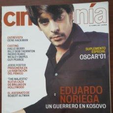 Cine: REVISTA CINEMANIA Nº 79 ABRIL 2002 (NO CONTIENE EL SUPLEMENTO). Lote 261285375