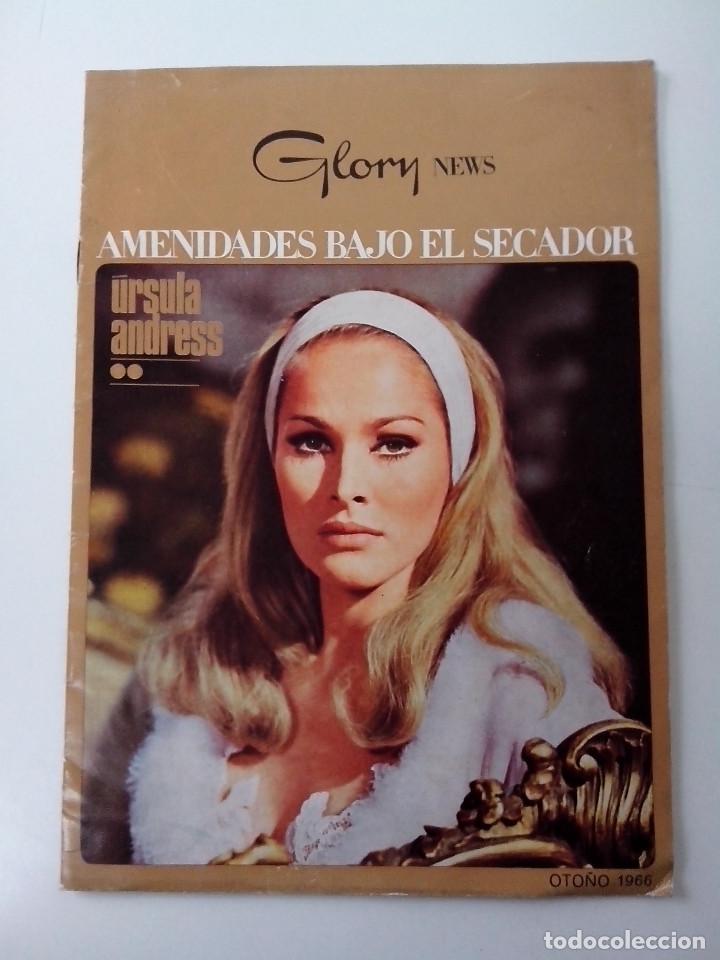 URSULA ANDRESS AMENIDADES BAJO EL SECADOR OTOÑO 1966 GLORY NEWS (Cine - Reproducciones de carteles, folletos...)
