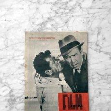 Cine: FILM IDEAL - Nº 53-54 1960 JAMES STEWART, DANIEL GELIN, JIRI WEISS, SAN SEBASTIAN, TRUFFAUT, GODARD. Lote 261826800