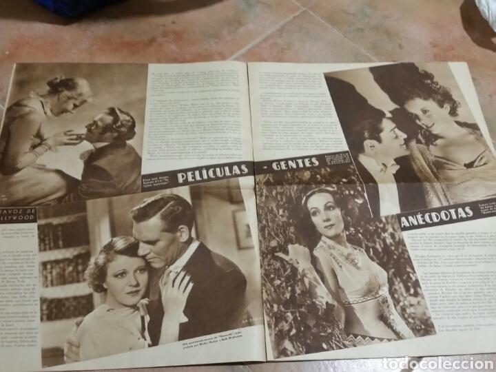 Cine: POPULAR FILM 1936 42x32cm revista - Foto 4 - 261843995