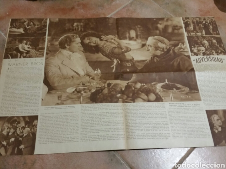 Cine: POPULAR FILM 1936 42x32cm revista - Foto 5 - 261843995