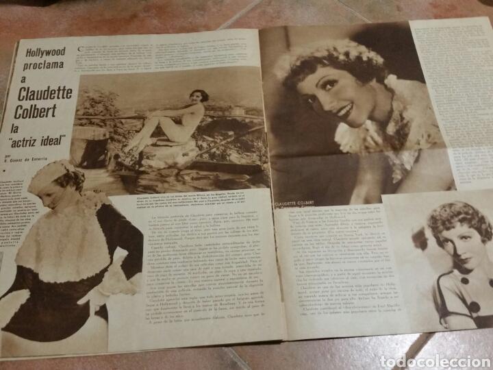 Cine: POPULAR FILM 1936 42x32cm revista - Foto 6 - 261843995