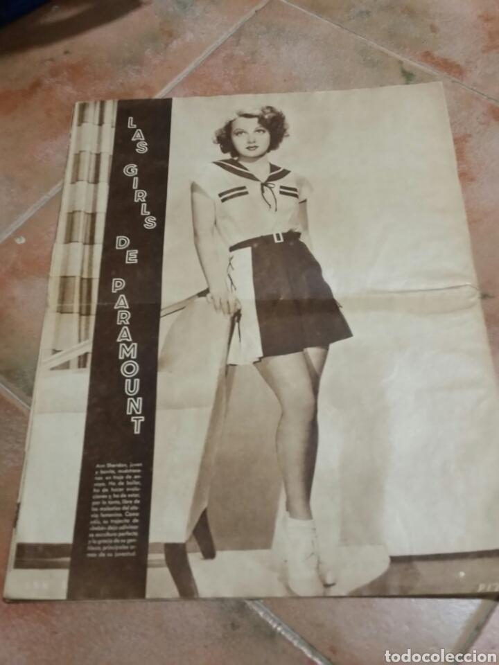 Cine: POPULAR FILM 1936 42x32cm revista - Foto 8 - 261843995