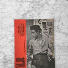 Cine: FILM IDEAL - Nº 57 - 1960 - MANUEL ZARZO, MOSTRA DE VENECIA, STANISLAW ROZEWICZ, LUCYNA WINNICKA. Lote 261913255