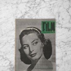Cine: FILM IDEAL - Nº 59 - 1960 - CAPUCINE, LA TELEVISION, I SEMANA DEL CINE MEJICANO, LENI RIEFENSTAHL. Lote 261914950