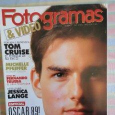 Cine: FOTOGRAMAS 1762 ABRIL 1990. Lote 261916005