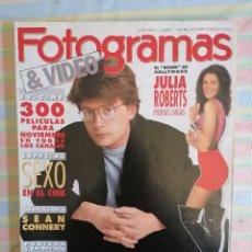 Cine: FOTOGRAMAS 1768 NOVIEMBRE 1990. Lote 261917175