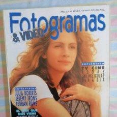 Cine: FOTOGRAMAS 1774 MAYO 1991. Lote 261918170