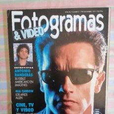 Cine: FOTOGRAMAS 1780 DICIEMBRE 1991. Lote 261919185
