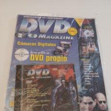 Cine: REVISTA DVD MAGAZINE N° 4 CON PC-DVD MATRIX. Lote 262057065