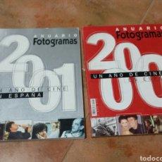 Cine: FOTOGRAMAS ANUARIO 2000 Y 2001. Lote 262109080