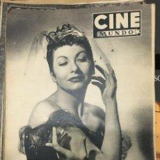 Cine: CINE MUNDO JEANMARIE 1953 ANN BLYTH GREGORY PECK MARILYN MONROE GINGER ROGERS. Lote 262176000