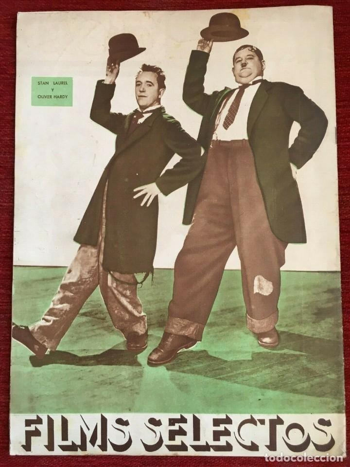 Cine: FILMS SELECTOS Gingers Rogers Laurel & Hardy Kitty Carlisle Myrna Loy Alice Faye 1936 - Foto 2 - 262177025
